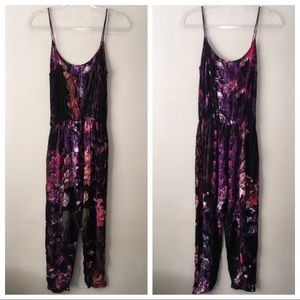 Motel Rocks Colorful Unitard Viscose Jumpsuit